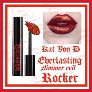🆕NIB KatVon D Everlasting Rocker Liquid Lipstick
